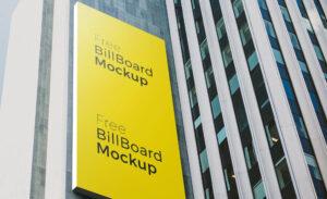 Free Poster and Billboard PSD Mockup
