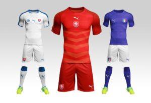 Football / Soccer Kit Mockup