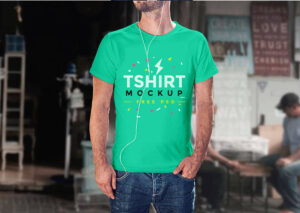 Download Free T-Shirt Mockup in PSD