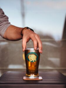 Beer Glass – Free PSD Mock-up