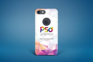 iPhone 7 Case Mockup – Download Free PSD Mock-up