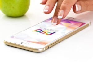 iPhone 7 Plus Gold – Free Mockup