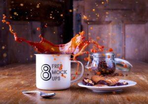 Bundle of Coffee Cup Free Mockups