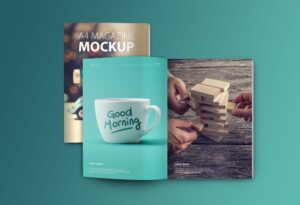 Set of Magazine Free Mockups
