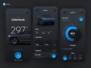 Car Setup E Commerce App Free UI Design