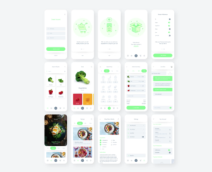 Food App – Free XD UI Kit