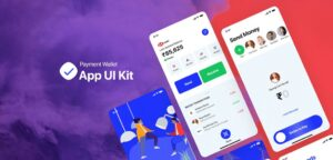 Payment Wallet Free UI Kit in XD