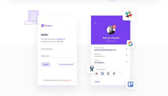 Planguru: Free UI kit for Event & Planning APP