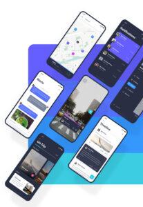 Transportation Free UI Kit