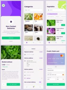 Delivery App Free UI Kit