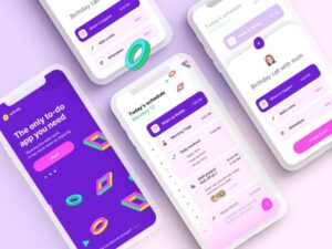 To-Do's Schedule – Free UI Template Sketch