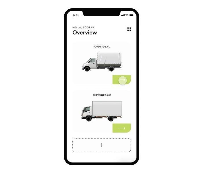Truck Maintenance Free UI App Animation