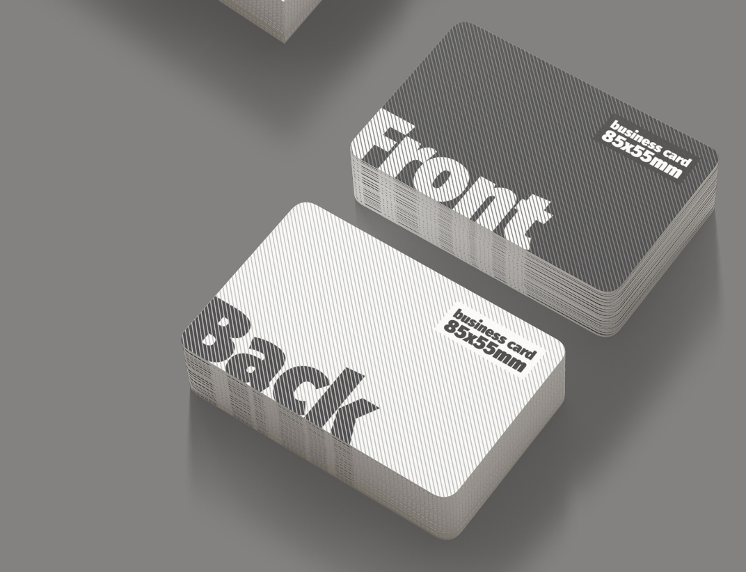 16 Business Cards Free Mockups