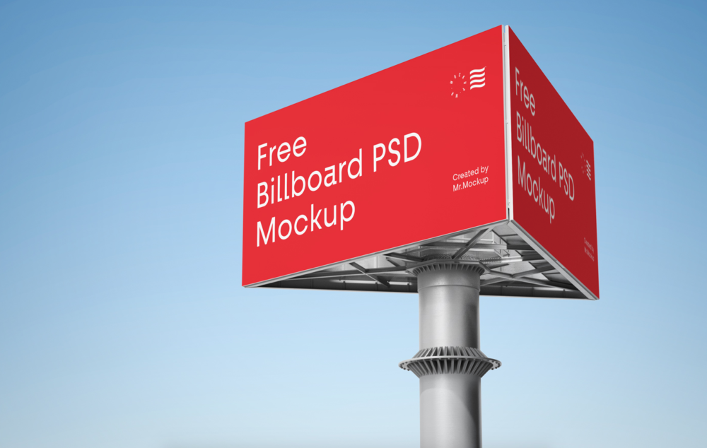 Advertising Billboard Free Mockup