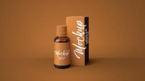 Amber Medicine Bottle Free Mockup