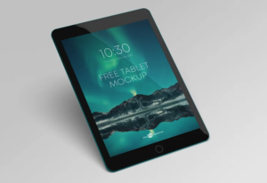 Android Tablet Freebie Mockup