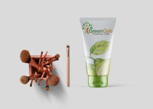 Beauty Product Tube Label Free Mockup