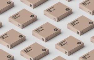Box Grid Free Mockup