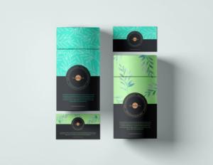 Branding Paper Tube Free Mockup
