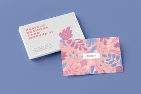 Business Cards Free Mockup Bundle