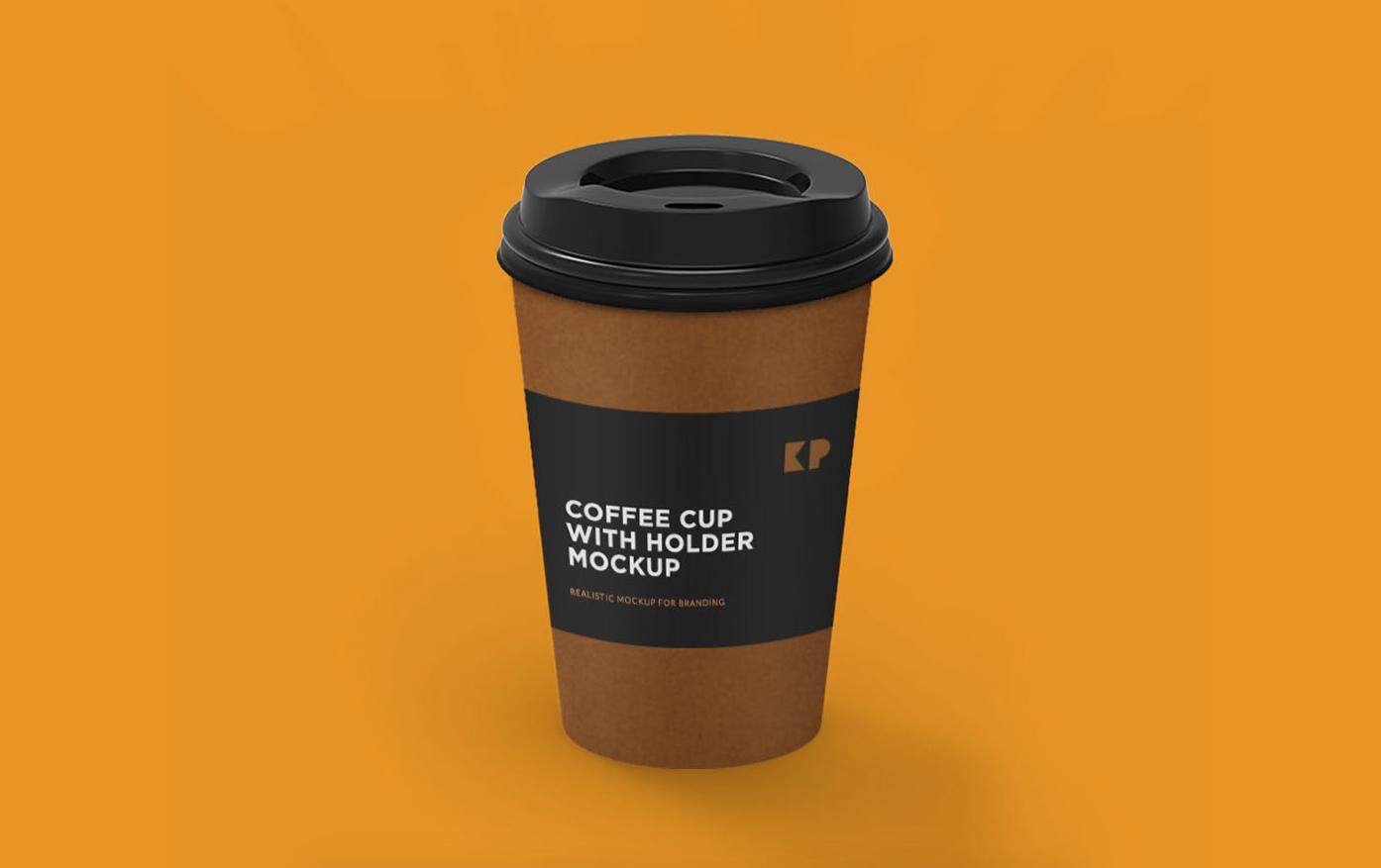 Coffee Cup Freebie Mockup (PSD)
