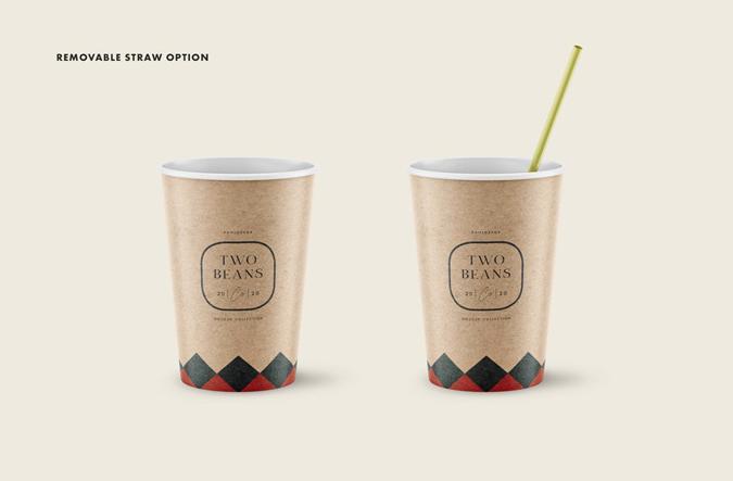 Coffee Cup PSD Free Mockup