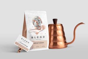 Coffeehouse Branding Free Mockup