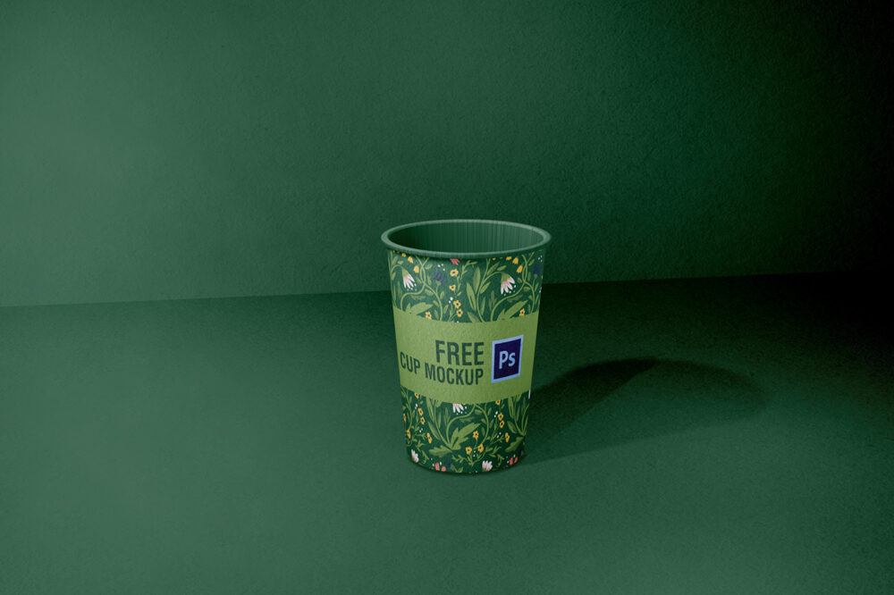 Cup Free Mockup (PSD)