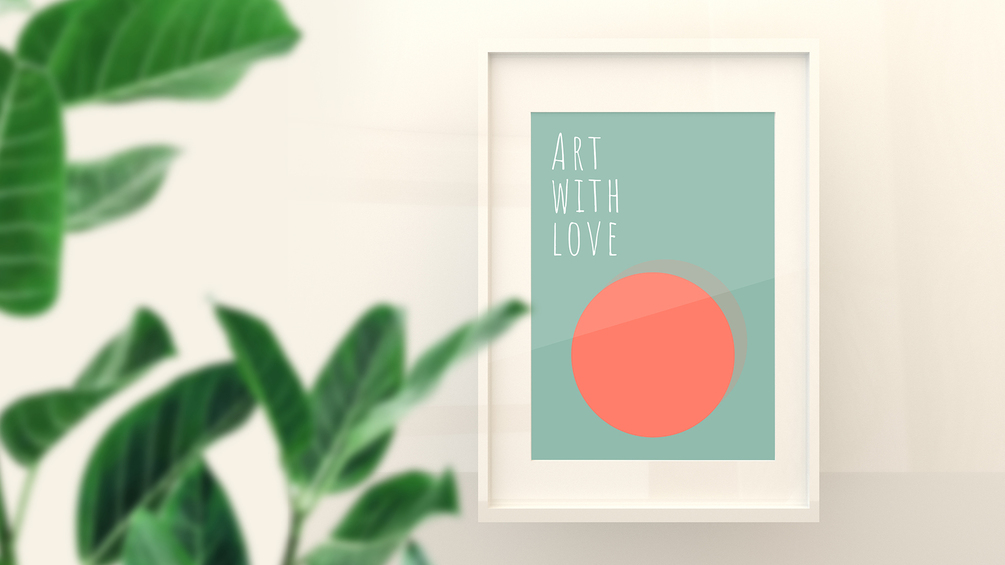 Framed Poster Mockup Free Collection