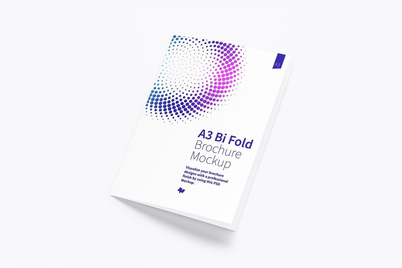 Free Bi Fold Brochure Mockup