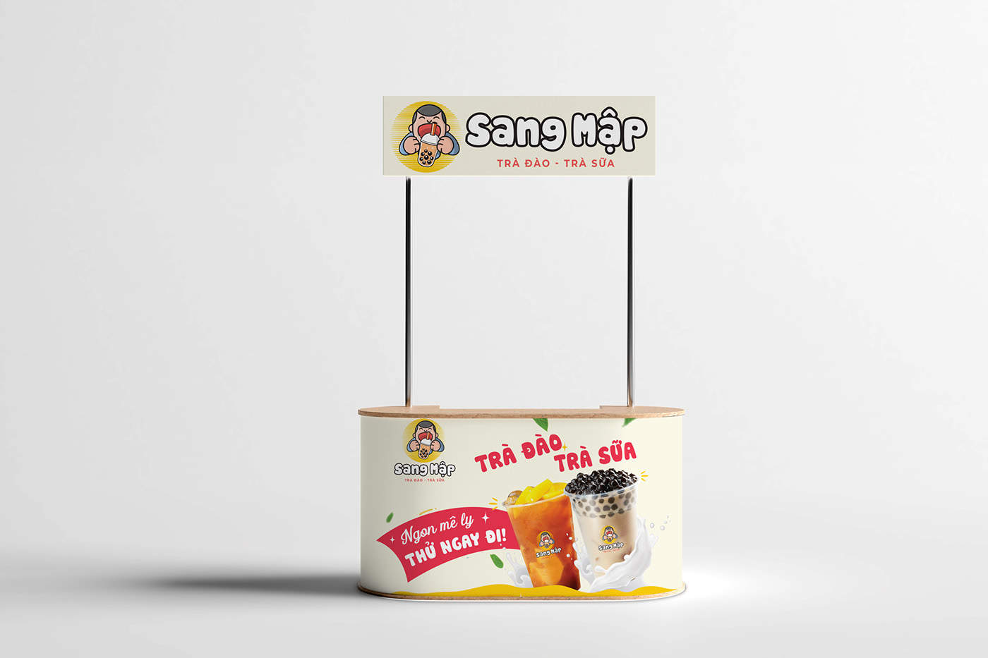 Free Booth Mockup (PSD)