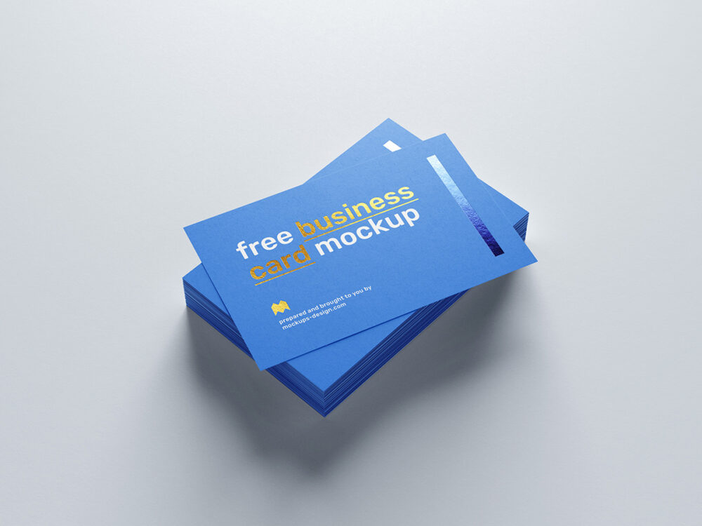 Free Business Card Mockup (PSD)