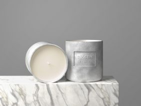 Free Candle Mockup (PSD)