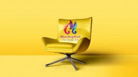 Free Chair Mockup (PSD)