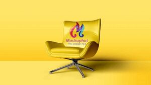 Free Chair Mockup (PSD)