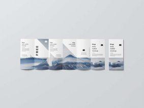 Free DL Flyer & Brochure Mockup