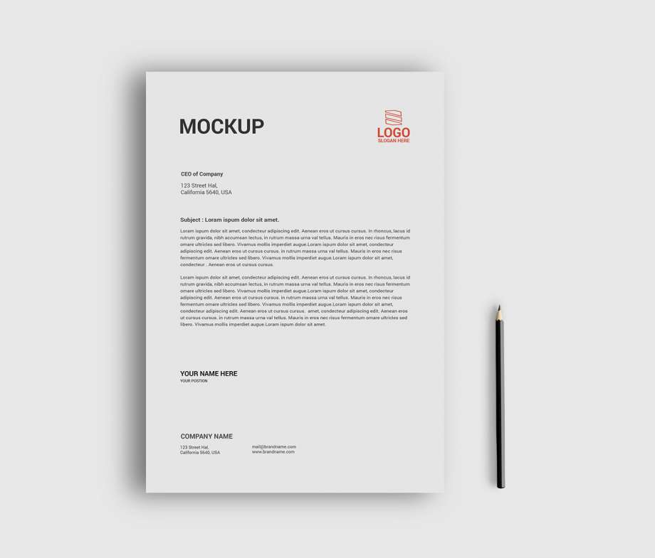 Free Flyer Mockup Set (PSD)