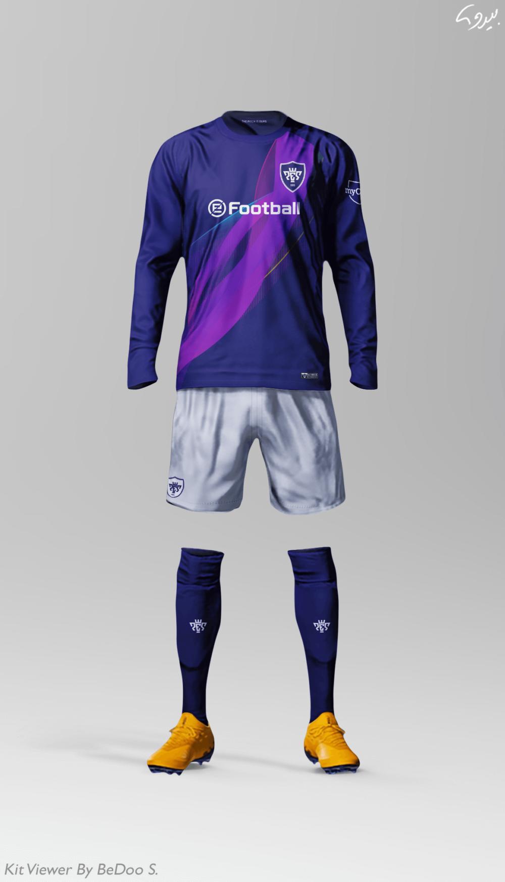 Free Football Soccer Full Kit Mockup