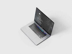 Free MacBook Pro Mockup (PSD)