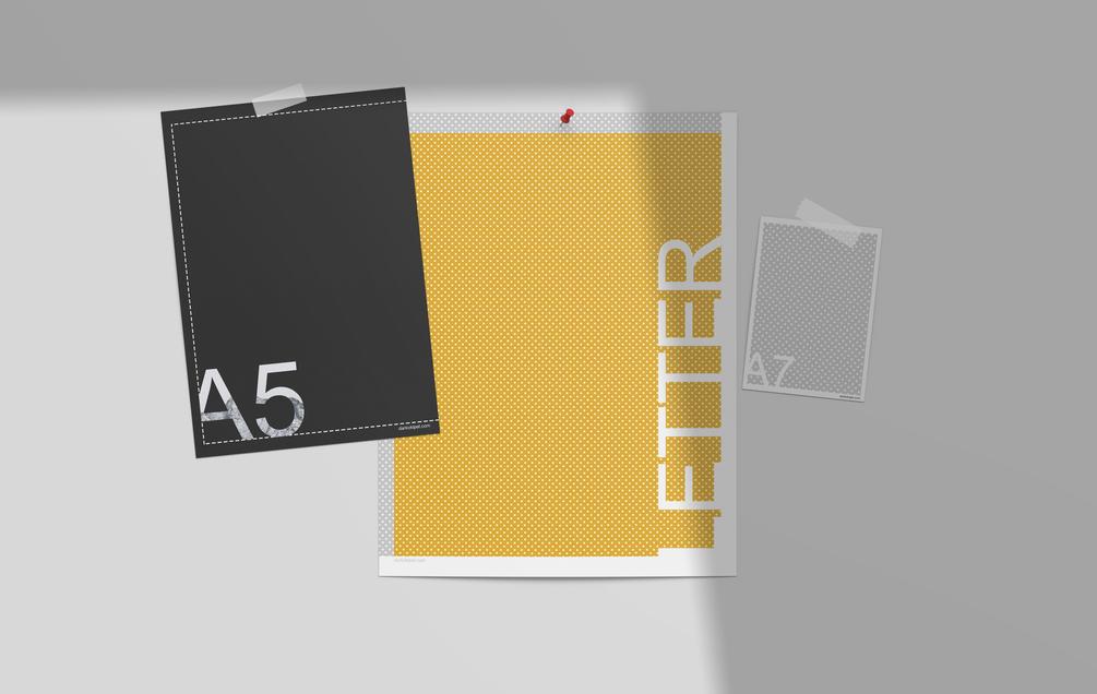 Free Moodboard Scene Creator Mockup (PSD)