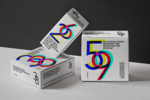 Free Packaging Boxes Mockup (PSD)