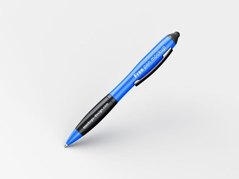 Free Pen Mockup (PSD)