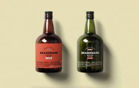 Free Rum Bottle Mockup (PSD)