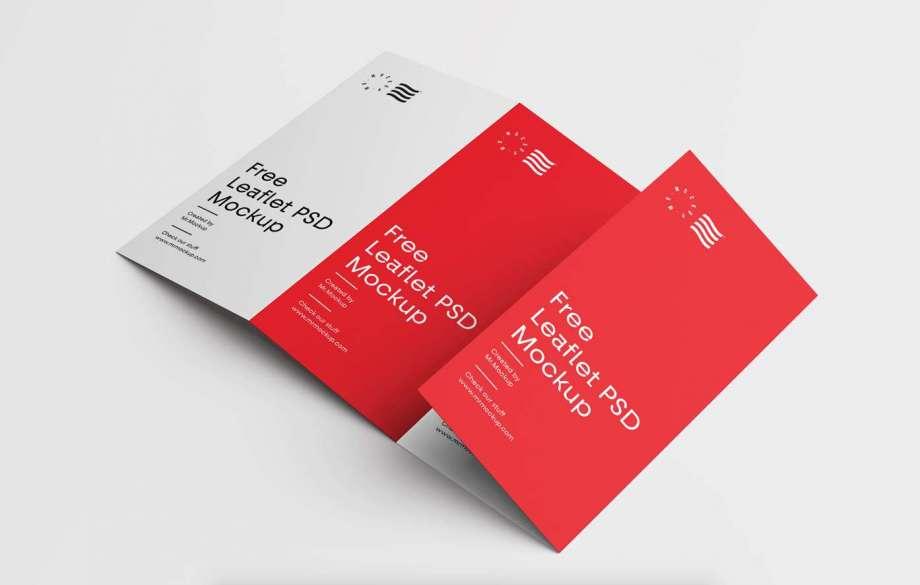 Free Simple Brochure Mockup