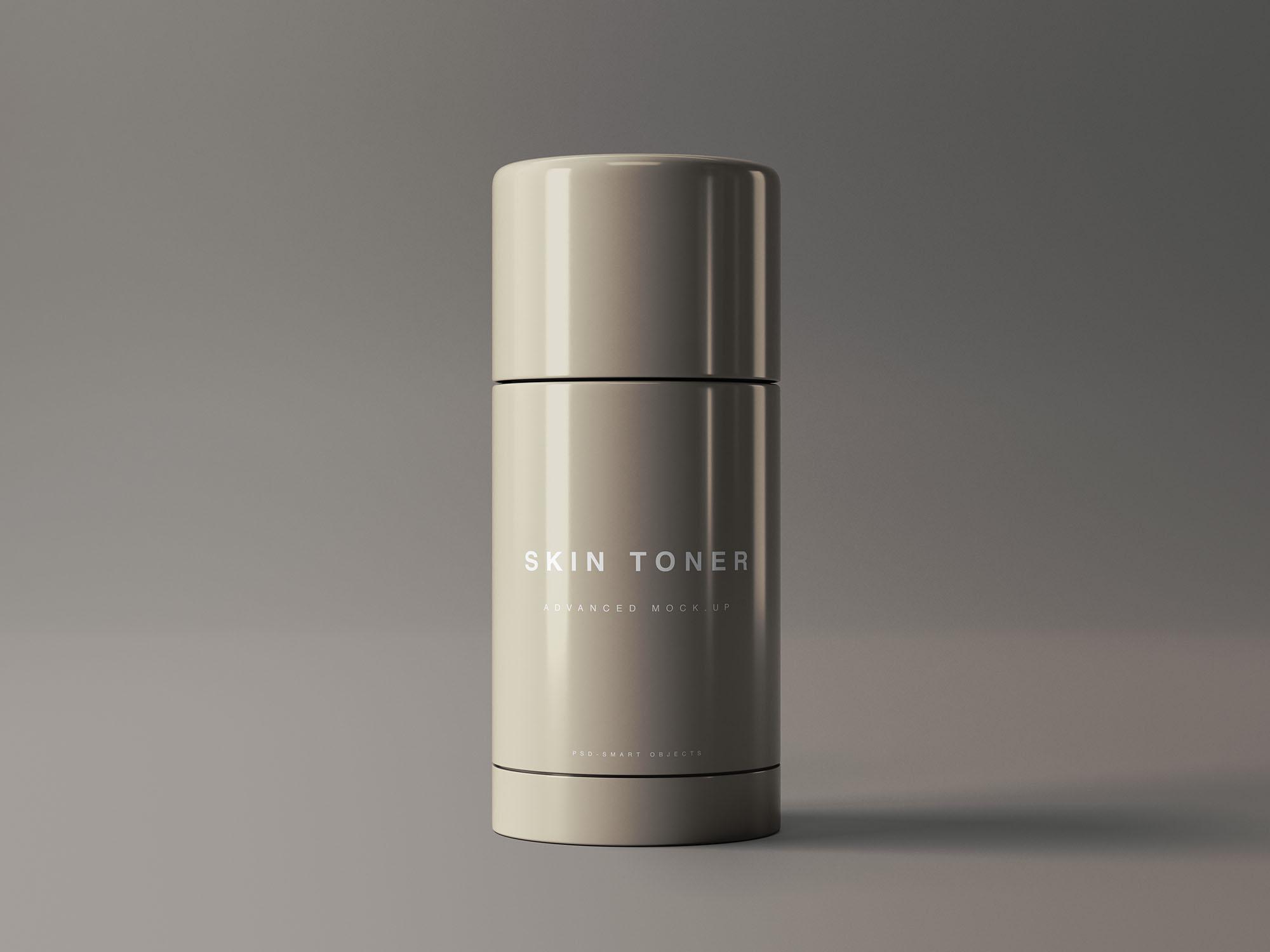 Free Skin Toner Mockup (PSD)