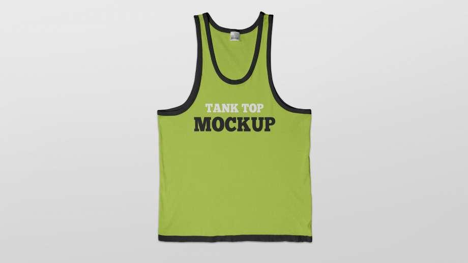 Free Tank Top Mockup
