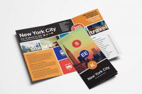 Free Trifold Travel Agency Brochure Template