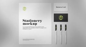 Free US Stationery Mockup (PSD)