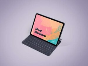 Free iPad Screen Mockup (PSD)
