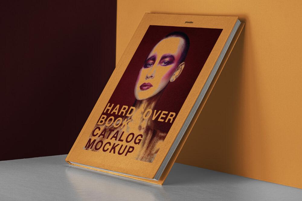 Hardcover Catalog/Book Free Mockup